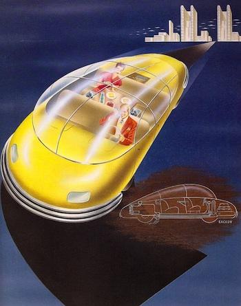 未来の自動車